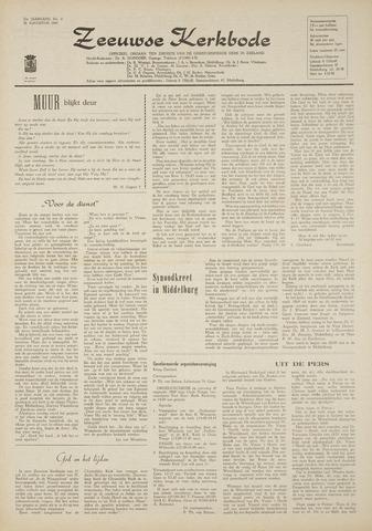 Zeeuwsche kerkbode, weekblad gewijd aan de belangen der gereformeerde kerken/ Zeeuwsch kerkblad 1969-08-28
