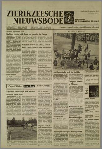 Zierikzeesche Nieuwsbode 1963-09-19
