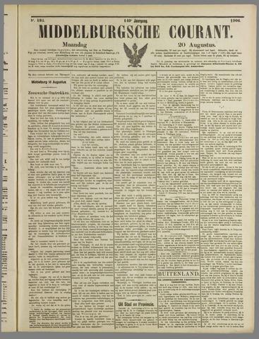 Middelburgsche Courant 1906-08-20