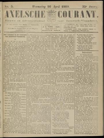 Axelsche Courant 1919-04-16