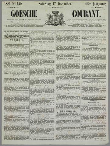 Goessche Courant 1881-12-17
