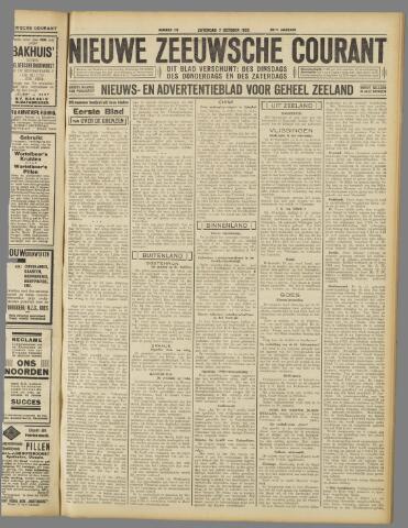Nieuwe Zeeuwsche Courant 1933-10-07