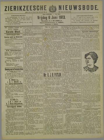 Zierikzeesche Nieuwsbode 1913-06-06