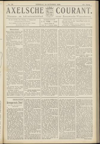 Axelsche Courant 1939-10-10