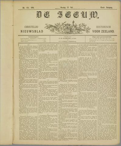 De Zeeuw. Christelijk-historisch nieuwsblad voor Zeeland 1896-07-21