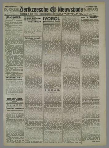 Zierikzeesche Nieuwsbode 1934-05-07