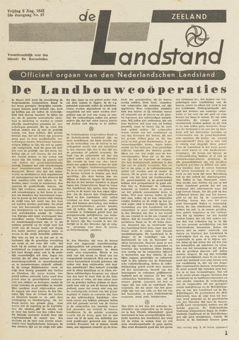 De landstand in Zeeland, geïllustreerd weekblad. 1943-08-06