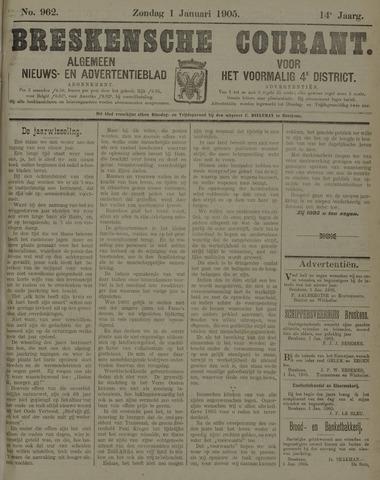 Breskensche Courant 1905