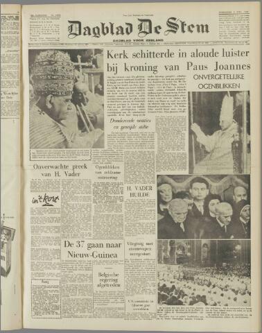 de Stem 1958-11-05