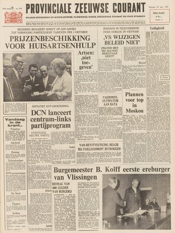 Provinciale Zeeuwse Courant 1967-09-30