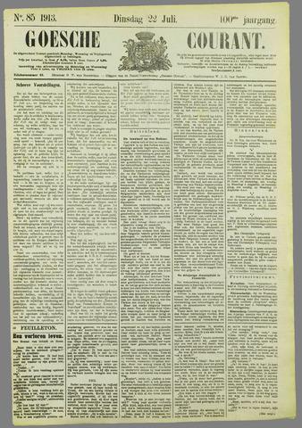 Goessche Courant 1913-07-22