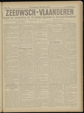 Luctor et Emergo. Antirevolutionair nieuws- en advertentieblad voor Zeeland / Zeeuwsch-Vlaanderen. Orgaan ter verspreiding van de christelijke beginselen in Zeeuwsch-Vlaanderen 1918-10-09