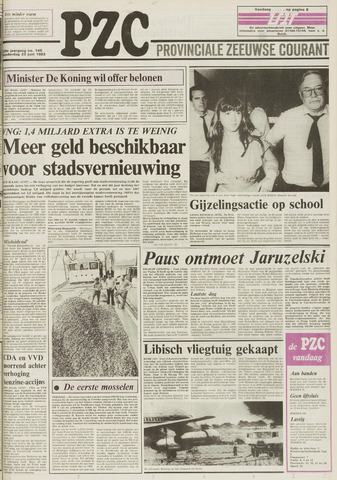 Provinciale Zeeuwse Courant 1983-06-23