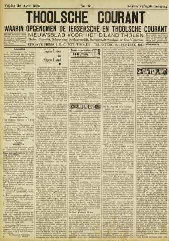 Ierseksche en Thoolsche Courant 1939-04-28