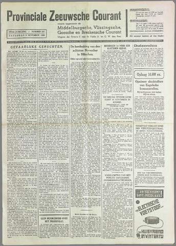Provinciale Zeeuwse Courant 1940-11-09