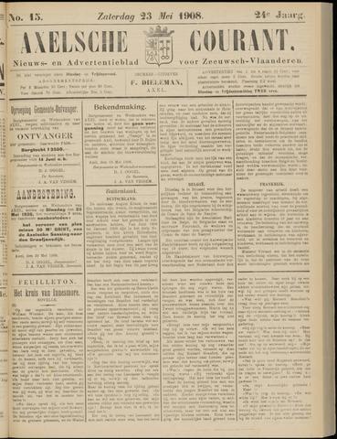 Axelsche Courant 1908-05-23