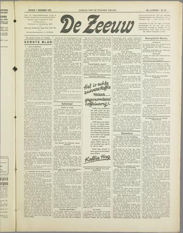 De Zeeuw. Christelijk-historisch nieuwsblad voor Zeeland 1934-12-07