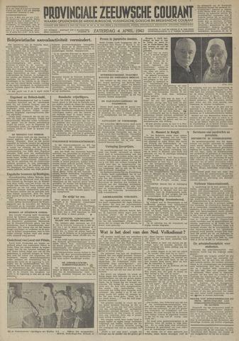 Provinciale Zeeuwse Courant 1942-04-04