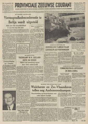 Provinciale Zeeuwse Courant 1953-12-28
