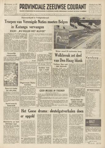 Provinciale Zeeuwse Courant 1960-08-09