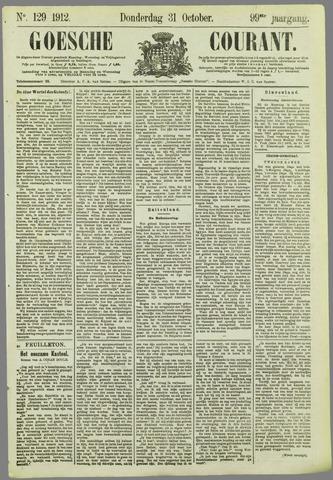 Goessche Courant 1912-10-31