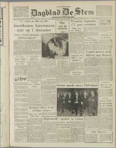 de Stem 1957-11-14