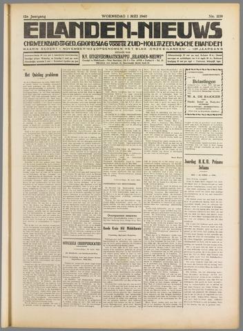 Eilanden-nieuws. Christelijk streekblad op gereformeerde grondslag 1940-05-01