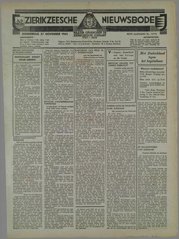 Zierikzeesche Nieuwsbode 1941-10-29