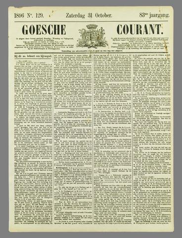 Goessche Courant 1896-10-31