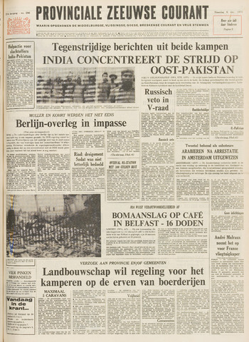 Provinciale Zeeuwse Courant 1971-12-06