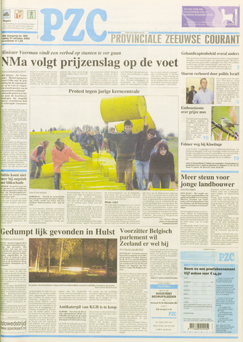 Provinciale Zeeuwse Courant 2003-10-31