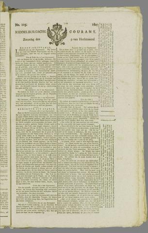 Middelburgsche Courant 1809-09-09