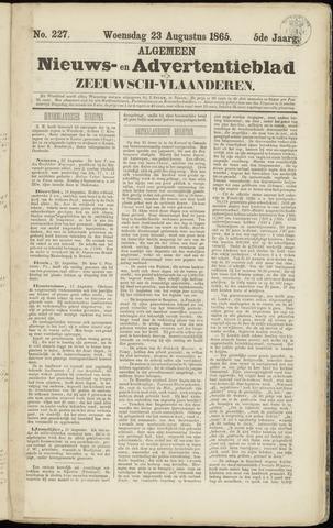 Ter Neuzensche Courant. Algemeen Nieuws- en Advertentieblad voor Zeeuwsch-Vlaanderen / Neuzensche Courant ... (idem) / (Algemeen) nieuws en advertentieblad voor Zeeuwsch-Vlaanderen 1865-08-23