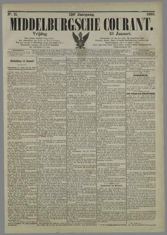 Middelburgsche Courant 1893-01-13
