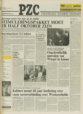 Provinciale Zeeuwse Courant 1977-09-21