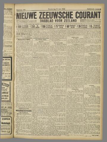 Nieuwe Zeeuwsche Courant 1922-06-15