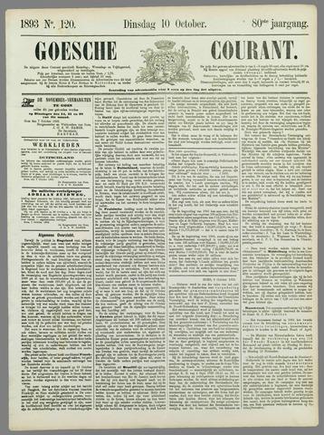 Goessche Courant 1893-10-10