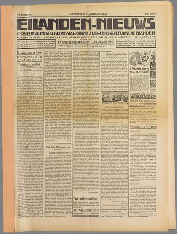 Eilanden-nieuws. Christelijk streekblad op gereformeerde grondslag 1939-01-07