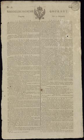 Middelburgsche Courant 1814-08-23