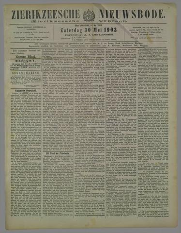 Zierikzeesche Nieuwsbode 1903-05-30