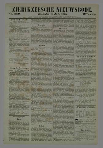 Zierikzeesche Nieuwsbode 1873-07-19