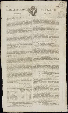 Middelburgsche Courant 1814-05-12