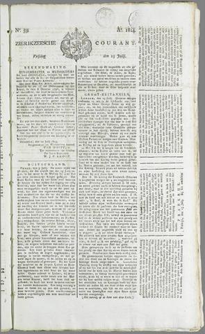Zierikzeesche Courant 1824-07-23