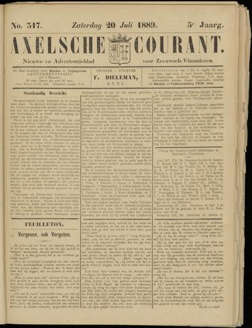 Axelsche Courant 1889-07-20