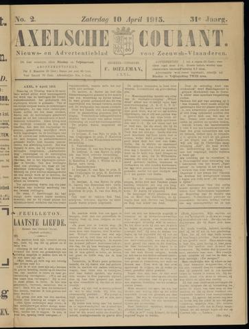 Axelsche Courant 1915-04-10