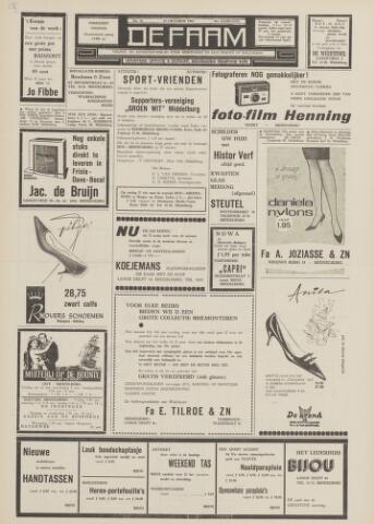 de Faam en de Faam/de Vlissinger 1963-10-18