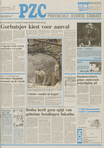 Provinciale Zeeuwse Courant 1991-07-26