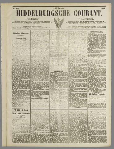 Middelburgsche Courant 1905-12-07
