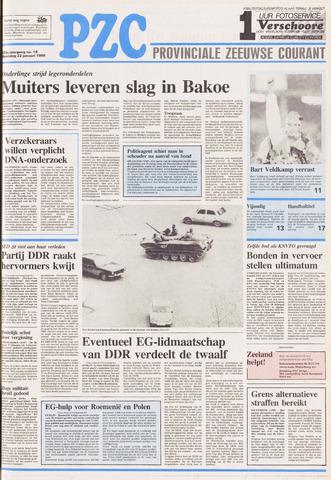 Provinciale Zeeuwse Courant 1990-01-22