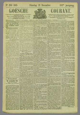 Goessche Courant 1915-12-21